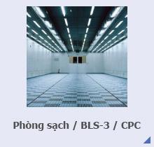 Phòng sạch / BSL-3 / CPC