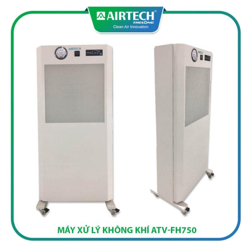 Máy xử lý không khí ATV-FH-750 hút khí độc, thanh lọc không khí, tạo áp âm