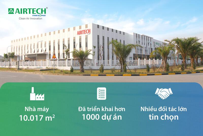 Nhà máy công ty Airtech Thế Long tại khu công nghệ cao VSIP Hải Dương